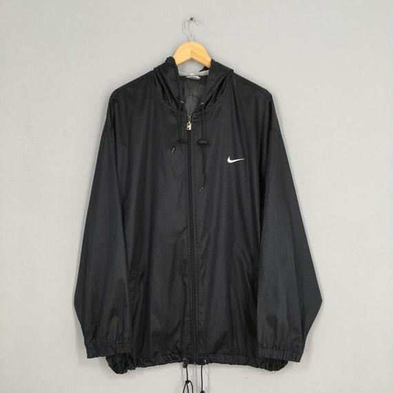 Vintage 90's Nike Windbreaker Hoodie Jacket Xlarge