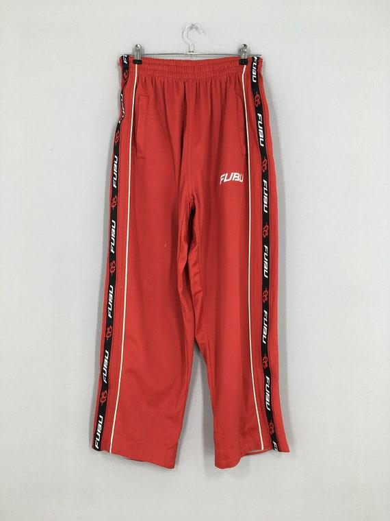 Vintage Fubu Track Pants Women Fubu Red Pants Trai