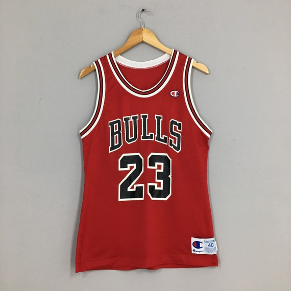 Michael Jordan #23 Champion Jersey Medium Chicago