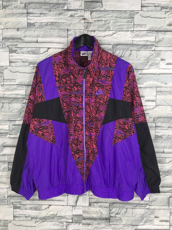 1990's Nike Mens Wicked 90s Windbreaker Jacket