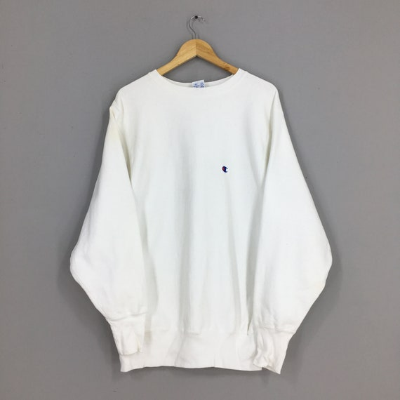 Vintage Champion Reverse Weave Jumper Sweater XLar