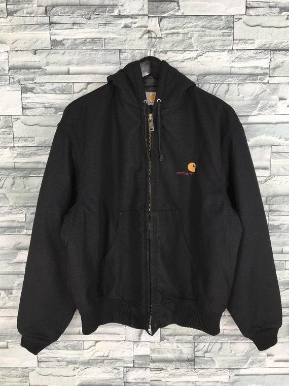 CARHARTT Bomber Jacket Hoodie Large Vintage 90's C