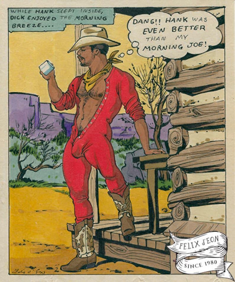 union suit queer felix deon lgbtq comic queer Morning Joe african-american gay art