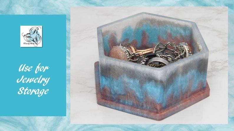 Resin Jewelry Box