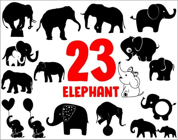 Elephant Svgelephant Clipartelephant Cut Fileelephant Etsy Elephant silhouette png elephant silhouette, elephant, black and white png image and #2150574 elephant with trunk raised silhouette png clip artâ #2150577 etsy