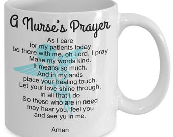 Trendsetting Nurses Prayer Gift Coffee Mug Gift Coffee Mug