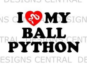 Ball python svg | Etsy