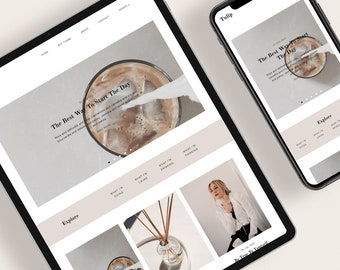 TULIP — Responsive Modern Blogger Template + Free Installation