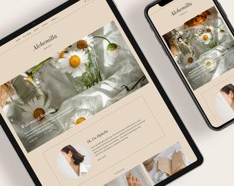 ALCHEMILLA — Responsive Modern Blogger Template + Free Installation