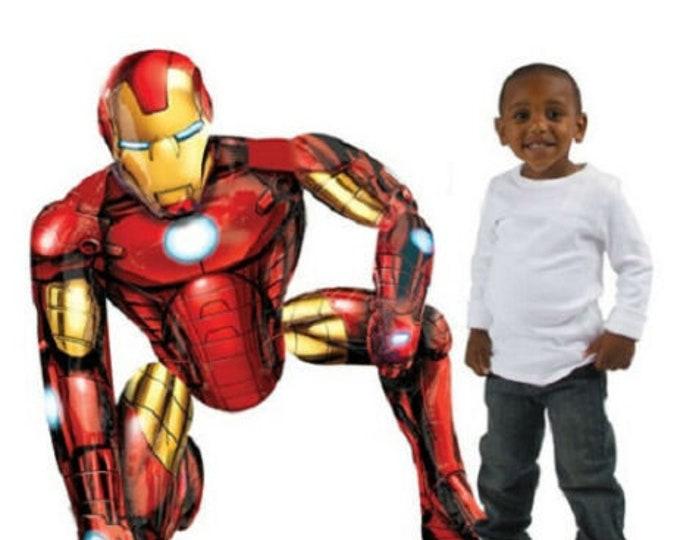 Marvel Avengers Iron Man Fun Jumbo Air Walker (55x63cm) Foil Balloon
