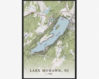 Lake Mohawk NJ Necklace