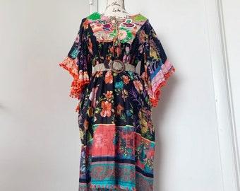 3544cd822 NWT Antica Sartoria Boho Beach Dress/Tunic/Coverup
