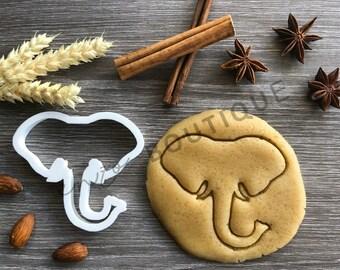 Elephant Cookie Cutter 05Fondant Cake DecoratingUK Seller