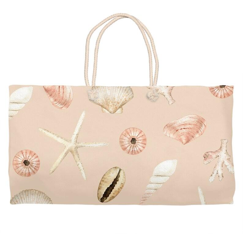 Starfish /& Seashells Weekender Tote Light