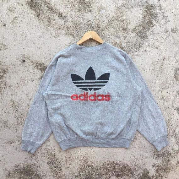Adidas Sweatshirt Big Logo Trefoil