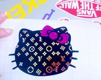Louis Vuitton Sticker Etsy