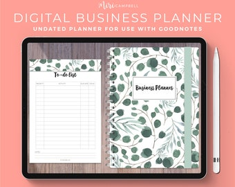 Digital Business Planner, iPad Business Planner, Goodnotes Business Planner, Digital Business Planning, Goodnotes Planner, Business Plan