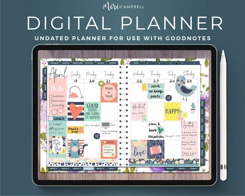 Goodnotes Digital Planner iPad Digital Planner Digital image 0