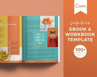 Ebook Template, Workbook Template, Canva Template, Worksheet Templates, Checklist Template, Lead Magnet Creator, Course Workbook Template