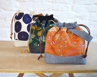 beginner bag pattern, One Hour Gift Bag Pattern patchwork bag pattern pdf draw string bag bag pattern digital download pattern