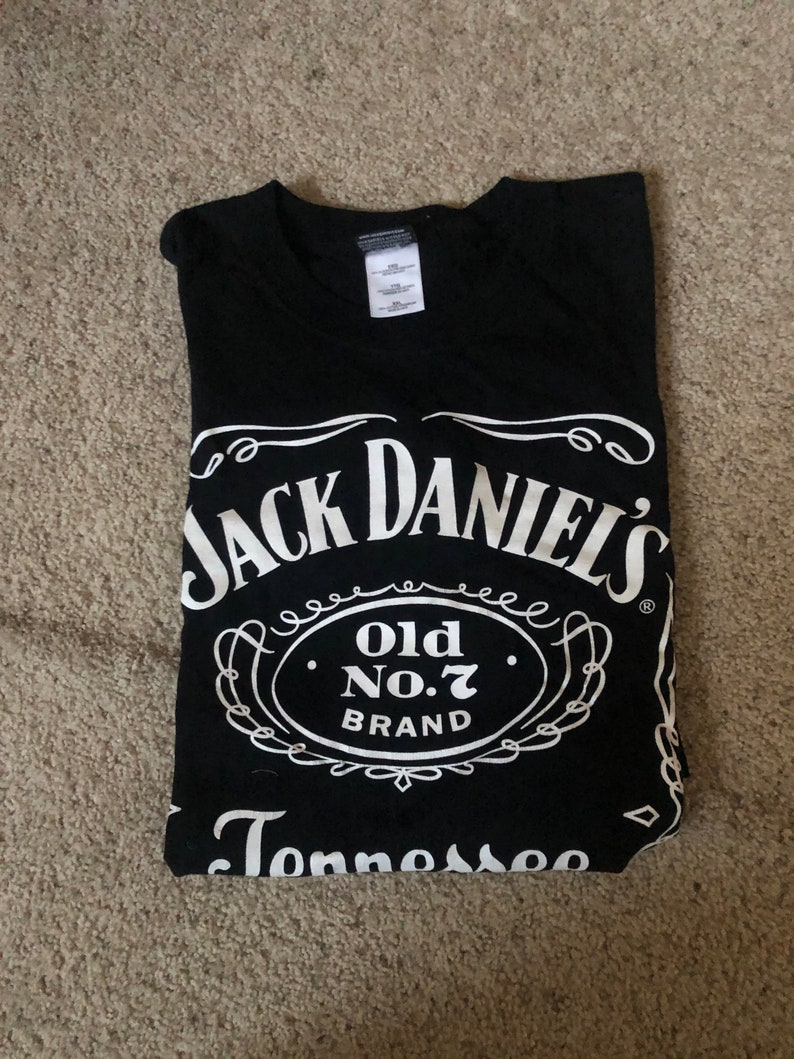 Mens vintage Jack Daniels T Shirt #66
