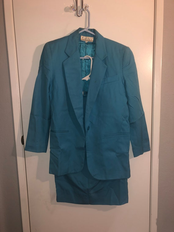 Vintage career skirt and blazer set