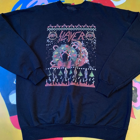 Vintage Slayer Christmas Sweater