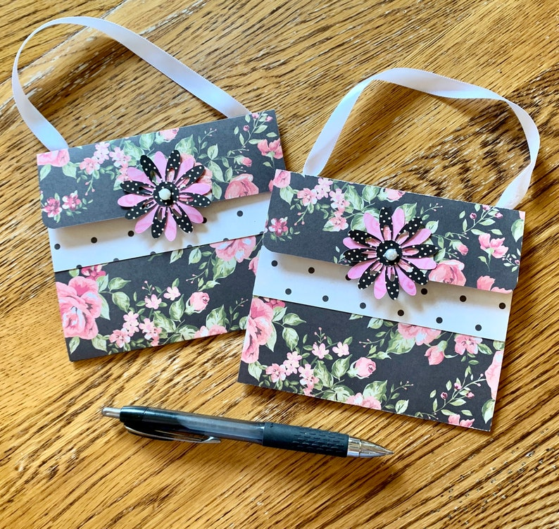 Purse Greeting Card to Hold Cash or Gift Card for Birthday or image 0