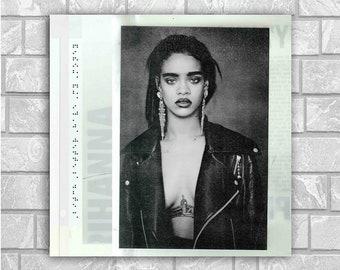 Rihanna poster wall decoration photo print 24x24 inches