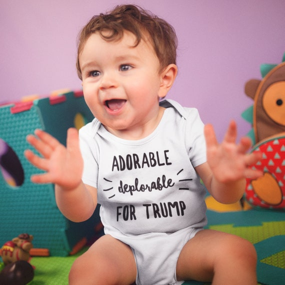 Re-Elect Trump 2020 MAGA Republican Baby Romper