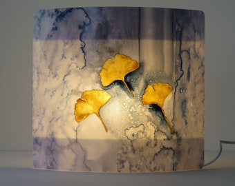 A004 Artist lamp, design lamp, art, painting, individual, artistic, extraordinary, cozy, table lamp, gift