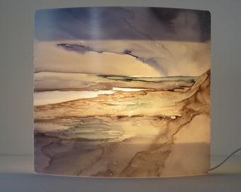B007 Artist lamp, design lamp, art, painting, individual, artistic, extraordinary, cozy, table lamp, gift