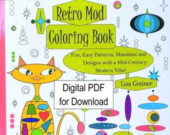 1950s Coloring Book Etsy