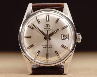 d6abdc264 Men's vintage Tissot Visodate Seastar Automatic watch Swiss watch 1960's  watch Retro men's watch Dress watch Vintage watch Gift for him