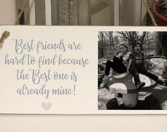 Personalised Friend Plaque Best Friends Stars Family Birthday Gift Present