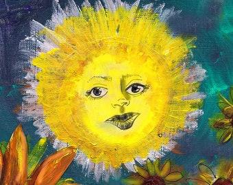 The Sun Tarot Print