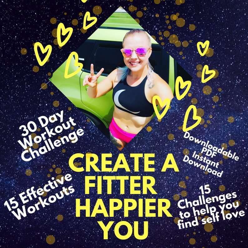 30 day Workout Challenge Find Self Love and get into Fitness image 0