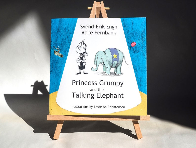 Princess Grumpy and the Talking Elephant  Childrens Book image 0