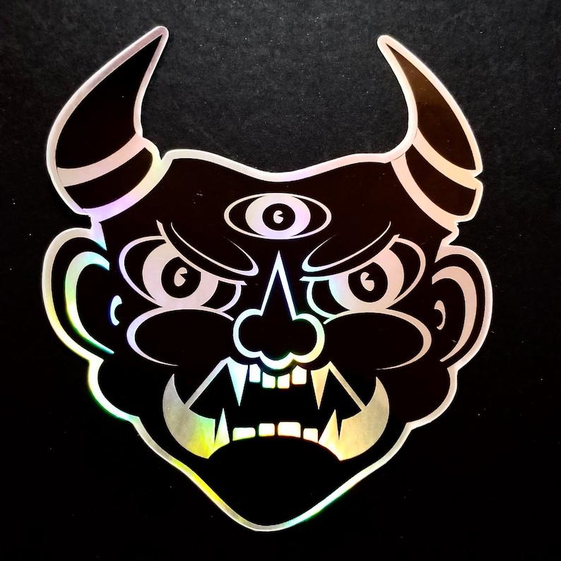 Oni Sticker image 0