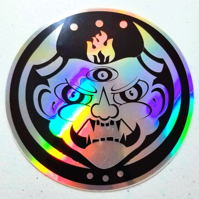 Fire Oni Sticker image 0
