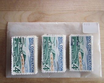 100 Used US Stamps  #742 Mt Rainier National Parks Issue  See our other lots