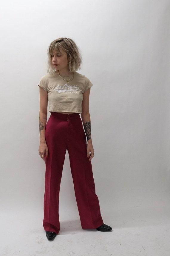 Vintage Maroon Levis Trousers