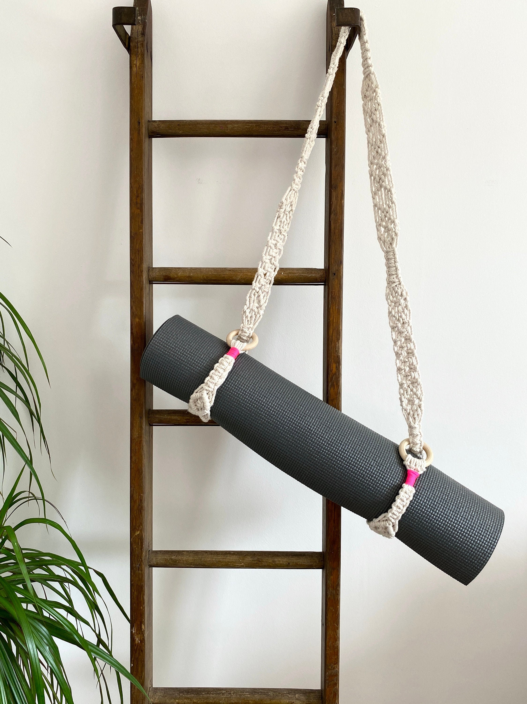 Macrame Yoga Mat Strap Etsy