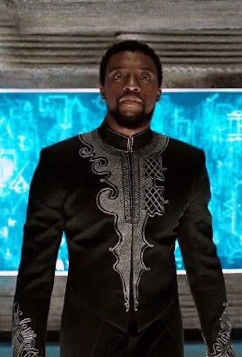 Black panther suit for all occasions. It comes with pant