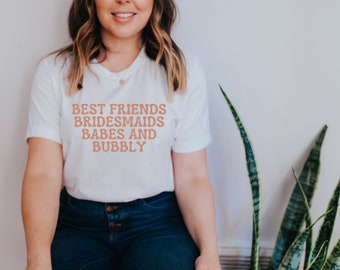 Bachelorette Party Shirt / Engaged Shirt / Bridesmaids Gifts / Bridesmaids Party Shirt