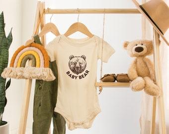 Baby Bear Onesie | Pregnancy Announcement | Baby Shower Gift