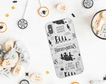 Hocus Phone Case / Sanderson Sisters Spell On You Halloween