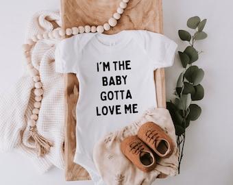 Gotta Love Me Baby Onesie | Pregnancy Announcement