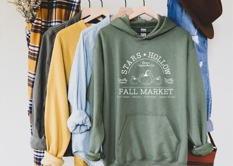 Stars Hollow Cozy Sweatshirt Hoodie / Girls Gilmore Fall image 0