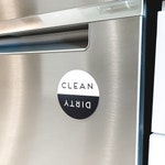 dishwasher magnet | dirty, clean, dishes, appliance